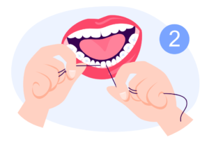 flossing,how to floss