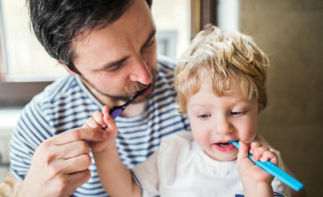 Brushing Your Baby's Teeth